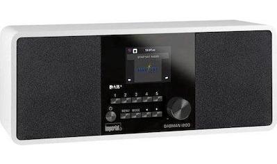IMPERIAL Digitalradio (DAB+) »DABMAN i200«, (LAN (Ethernet)-WLAN Digitalradio (DAB+)-FM-Tuner-UKW mit RDS-Internetradio 20 W) kaufen