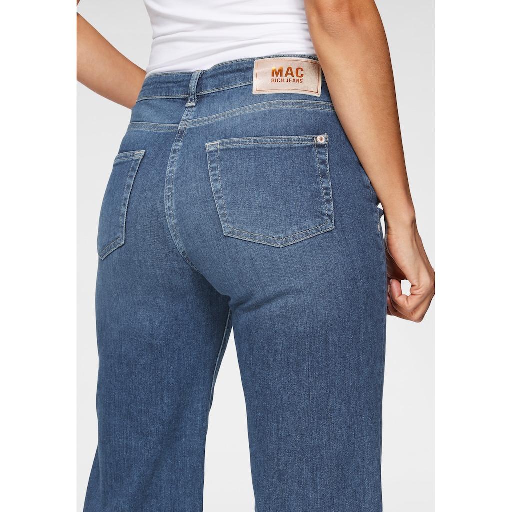 MAC Weite Jeans »Rich-Culotte«, Schmaler Bund und weites Bein