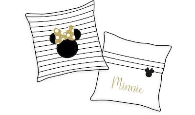 Walt Disney Dekokissen »Minnie Mouse«, mit süßem Schriftzug kaufen