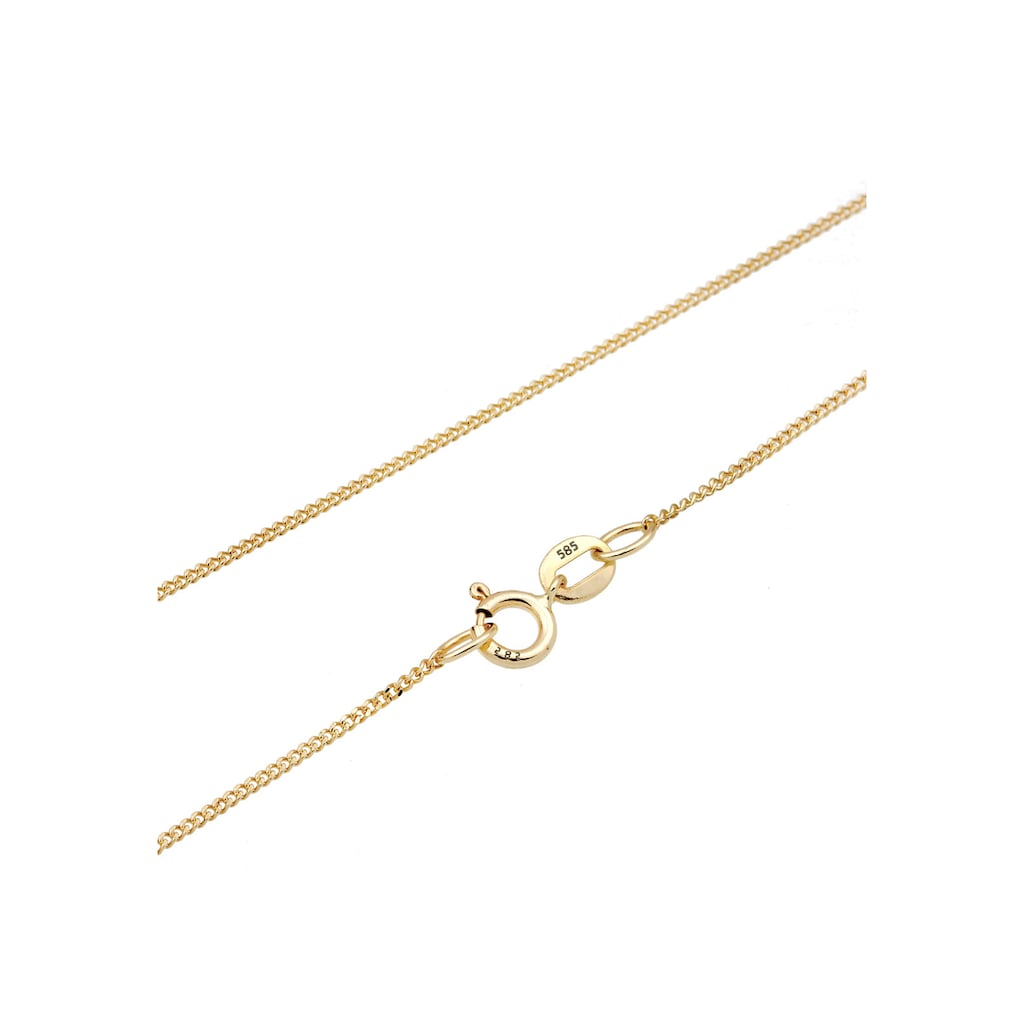 Elli Collierkettchen »Hamsa Hand Diamant (0.03 ct.) 585 Gelbgold«