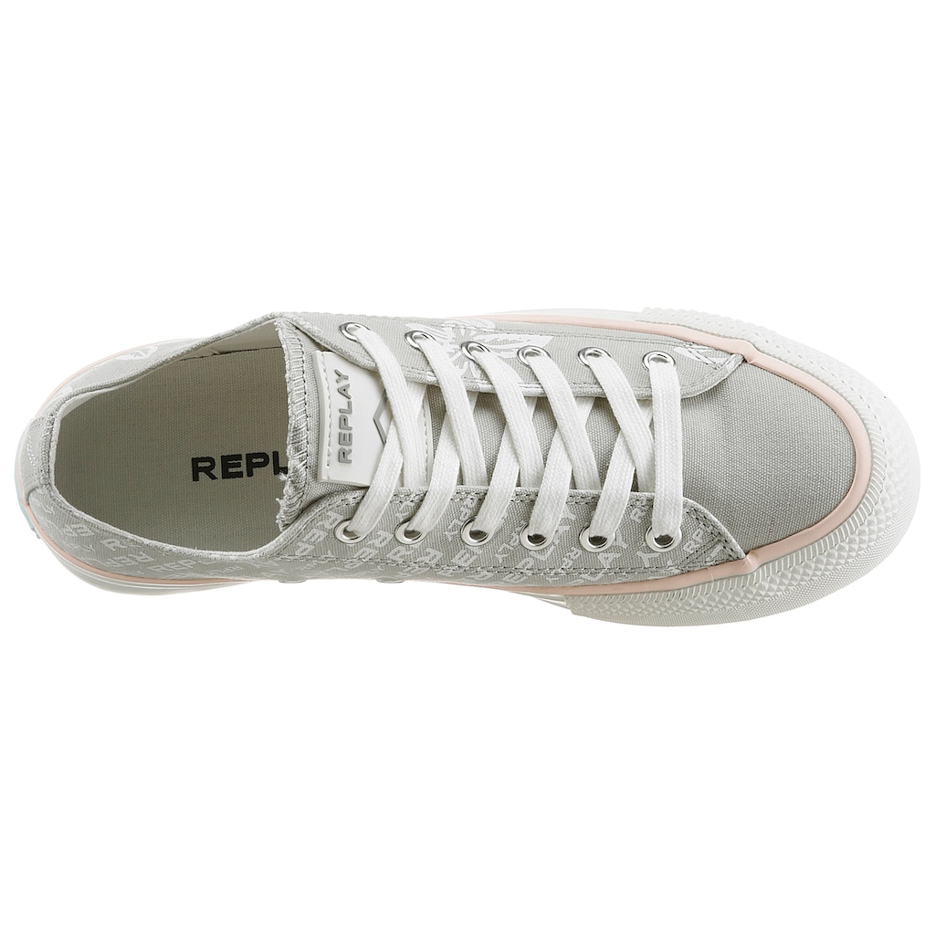 Replay Plateausneaker »KEMPLEY«, mit Blumendruck