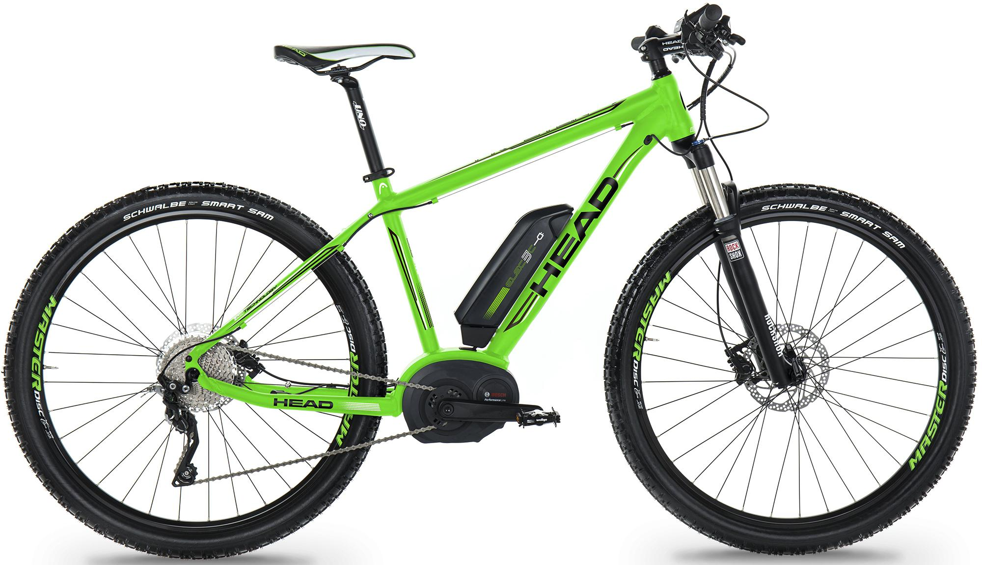 Head E-Bike Mountainbike, 29 Zoll, 10-Gang Shim...