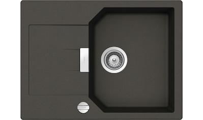 SCHOCK Granitspüle »Lucca«, ohne Restebecken, 69 x 51 cm kaufen