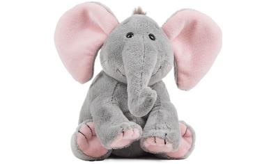 Schaffer® Kuscheltier »Elefant Baby Sugar, 19 cm, grau/rosé« kaufen