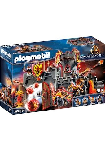 "Playmobil® Konstruktions - Spielset ""Festung der Burnham Raiders (70221), Novelmore"", Kunststoff, (215 - tlg.) kaufen"