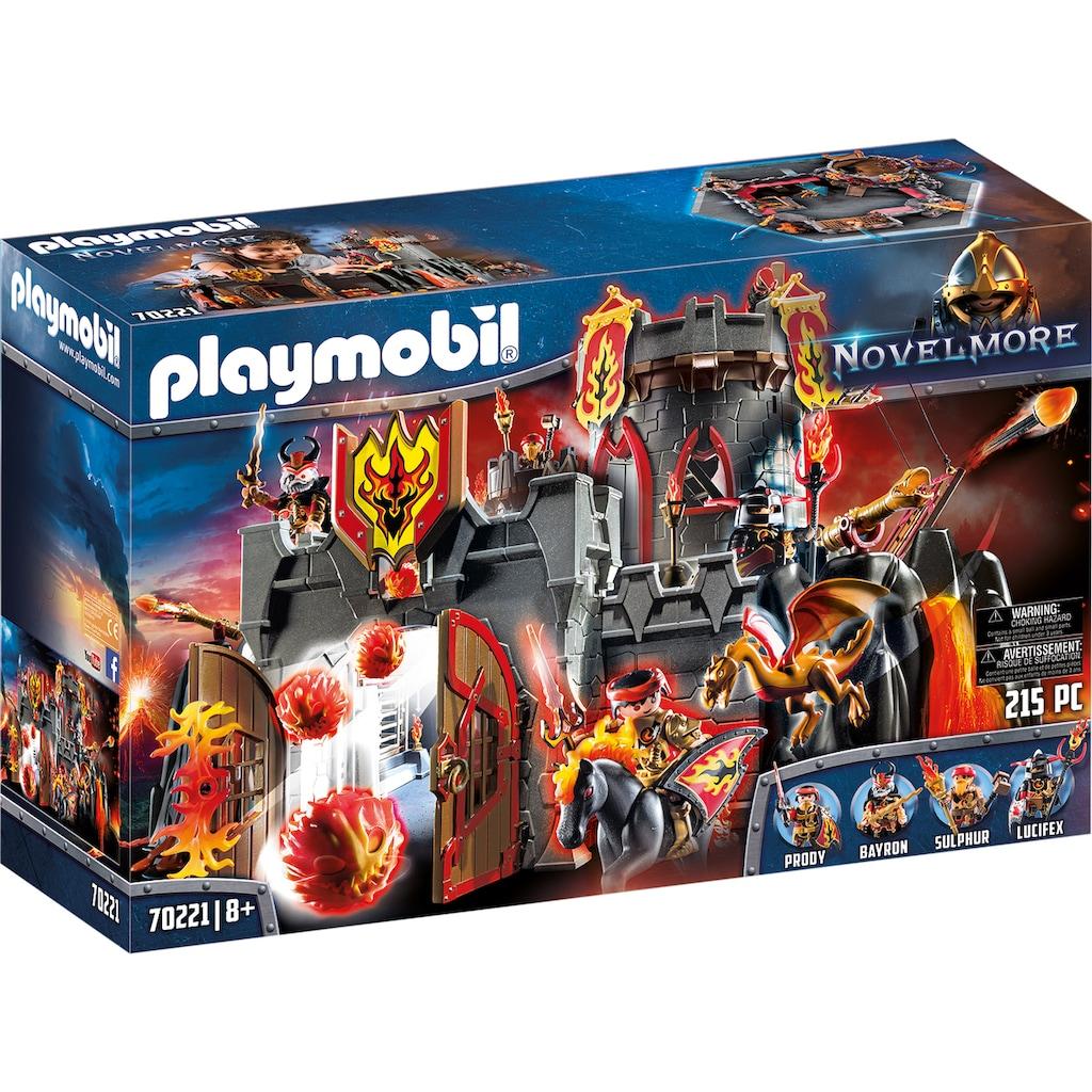 Playmobil® Konstruktions-Spielset »Festung der Burnham Raiders (70221), Novelmore«, (215 St.), Made in Germany