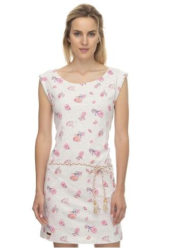 Ragwear Shirtkleid »TAMY FLOWERS«, (2 tlg., mit Gürtel in Lederoptik), mit multicolor Flower Allover Print kaufen
