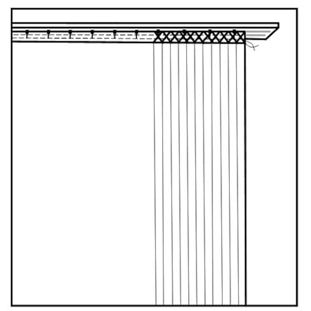 HOME WOHNIDEEN Vorhang »GRÜNER WALD«, HxB: 245x120