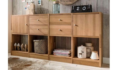 Premium collection by Home affaire Sideboard »Ecko«, aus massivem Wildeichenholz, Breite 181 cm kaufen