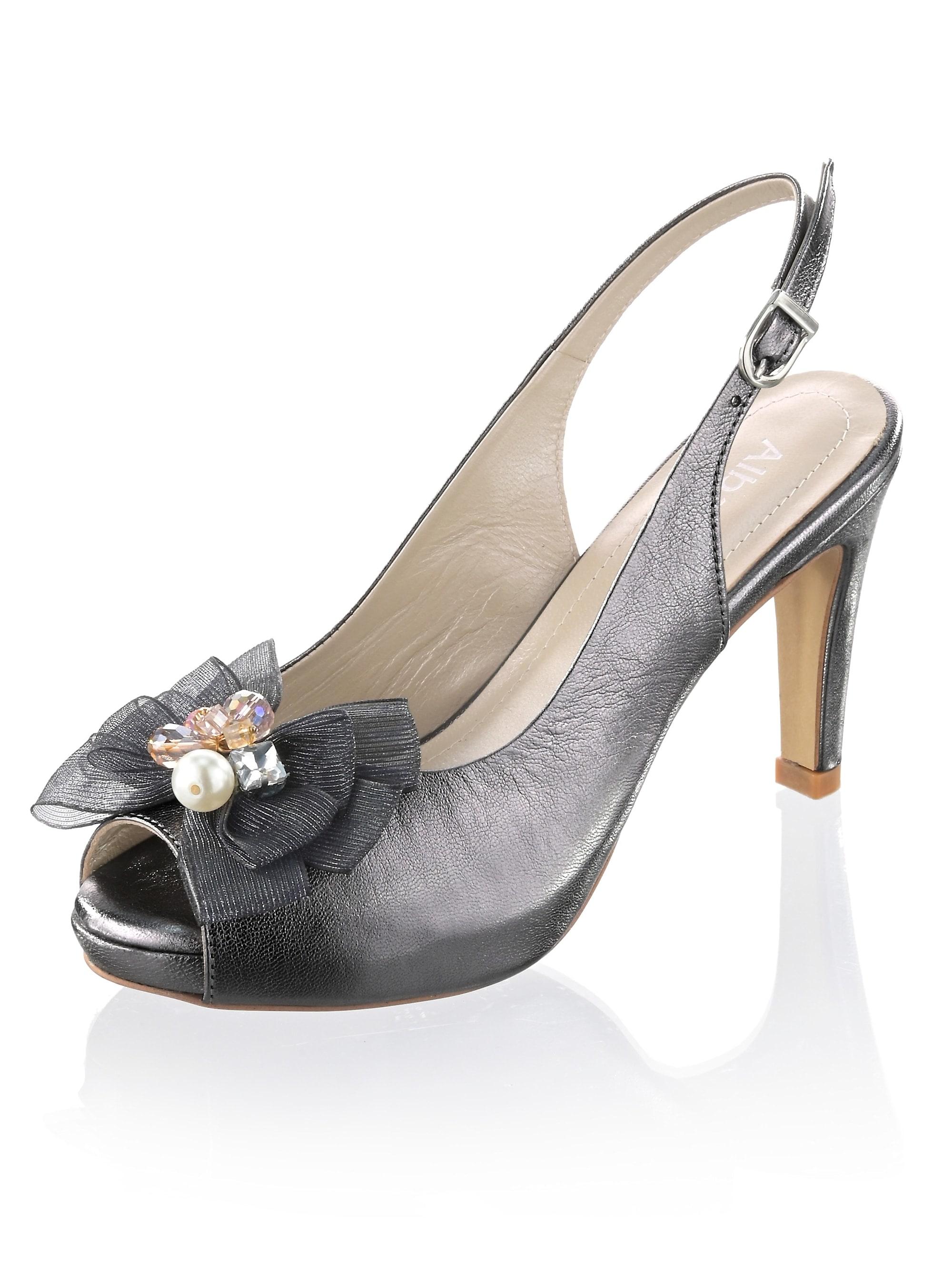 alba moda -  Sandalette als femininer Peeptoe