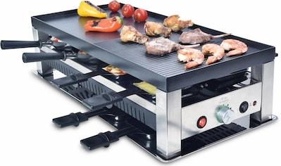 SOLIS OF SWITZERLAND Raclette Typ 791, 8 Raclettepfännchen, 1400 Watt kaufen