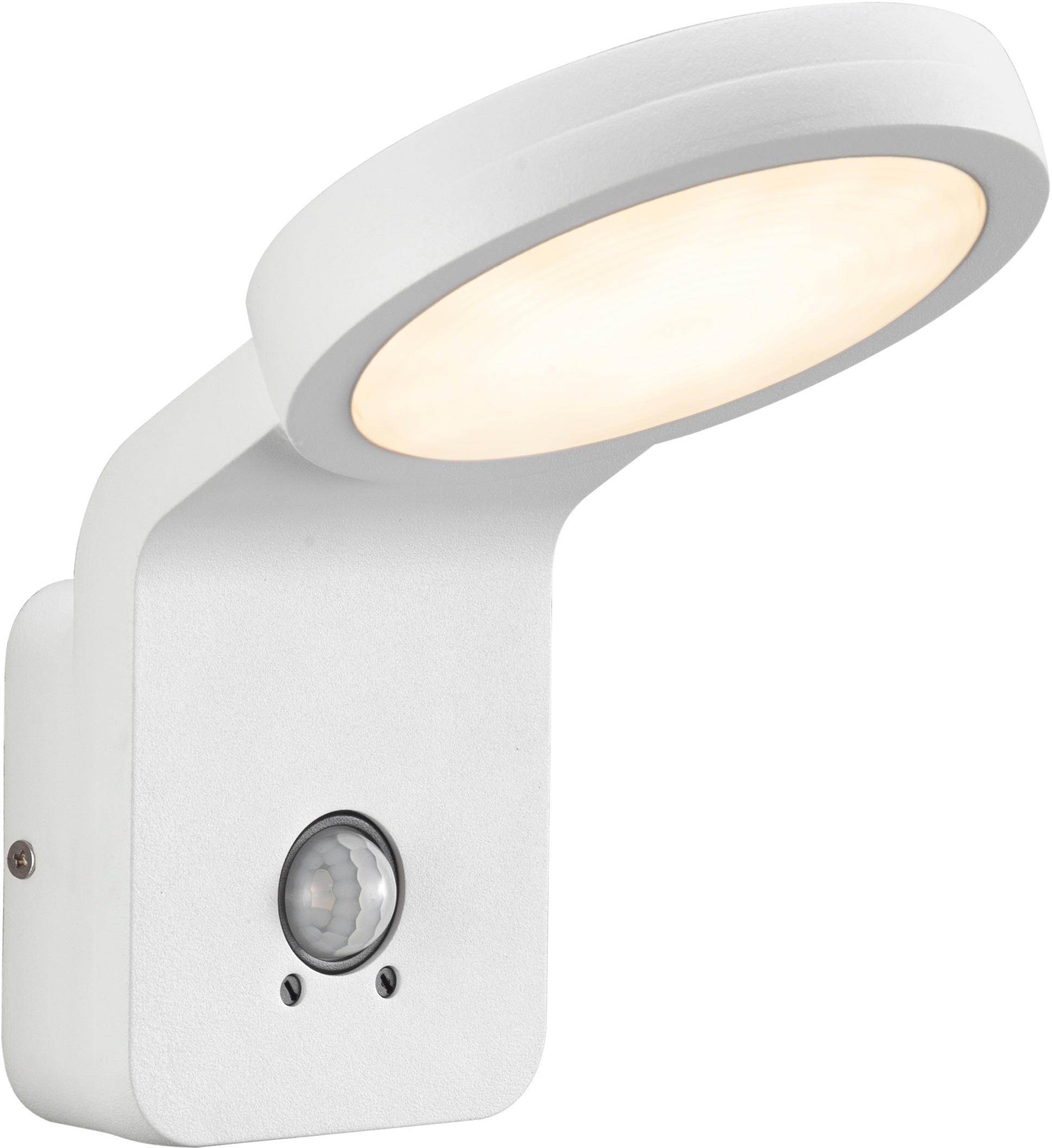 Nordlux LED Außen-Wandleuchte Marina Flatline Pir Sensor, LED-Board, Warmweiß, mit Bewegungsmelder