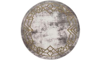 Teppich, »Noa 9337«, Carpet City, rund, Höhe 11 mm, maschinell gewebt kaufen