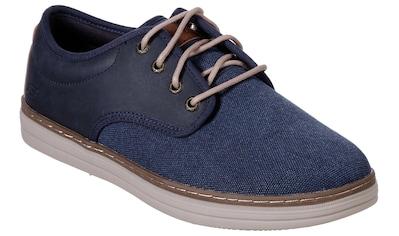 Skechers Schnürschuh »HESTON«, im modischen Materialmix kaufen