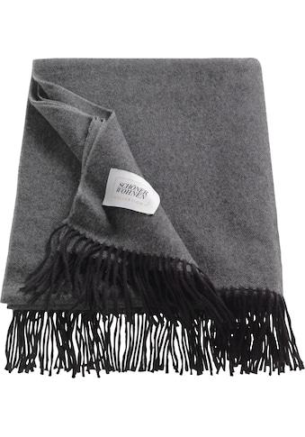 SCHÖNER WOHNEN-Kollektion Wohndecke »Wooly«, aus hochwertigem Schurwolle-Baumwollmix kaufen