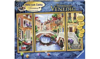 Ravensburger Malen nach Zahlen »Triptychon - Verträumtes Venedig«, Made in Europe,... kaufen