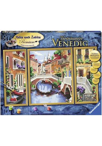 """Ravensburger Malen nach Zahlen """"Triptychon  -  Verträumtes Venedig"""" kaufen"""