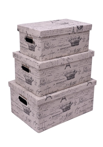 Franz Müller Flechtwaren Aufbewahrungsbox, (Set, 3 St.), faltbar kaufen