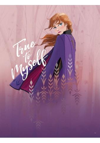 KOMAR Wanddekoration »Frozen Anna True to Myself«, ohne Rahmen kaufen