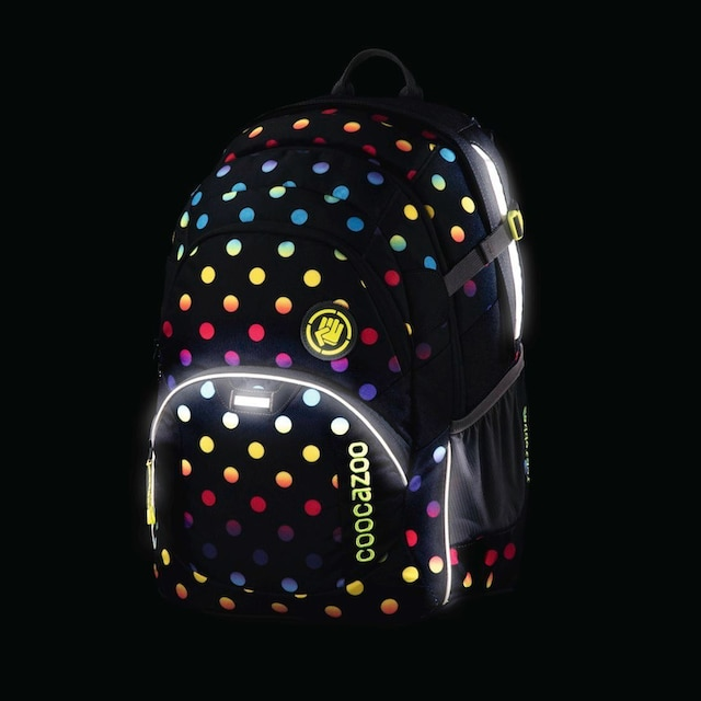 "Coocazoo Schulrucksack ""JobJobber2"" mit Laptopfach »Magic Polka Colorful«"