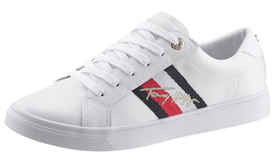 Tommy Hilfiger Sneaker »TH SIGNATURE CUPSOLE SNEAKER«, mit Logostickerei kaufen