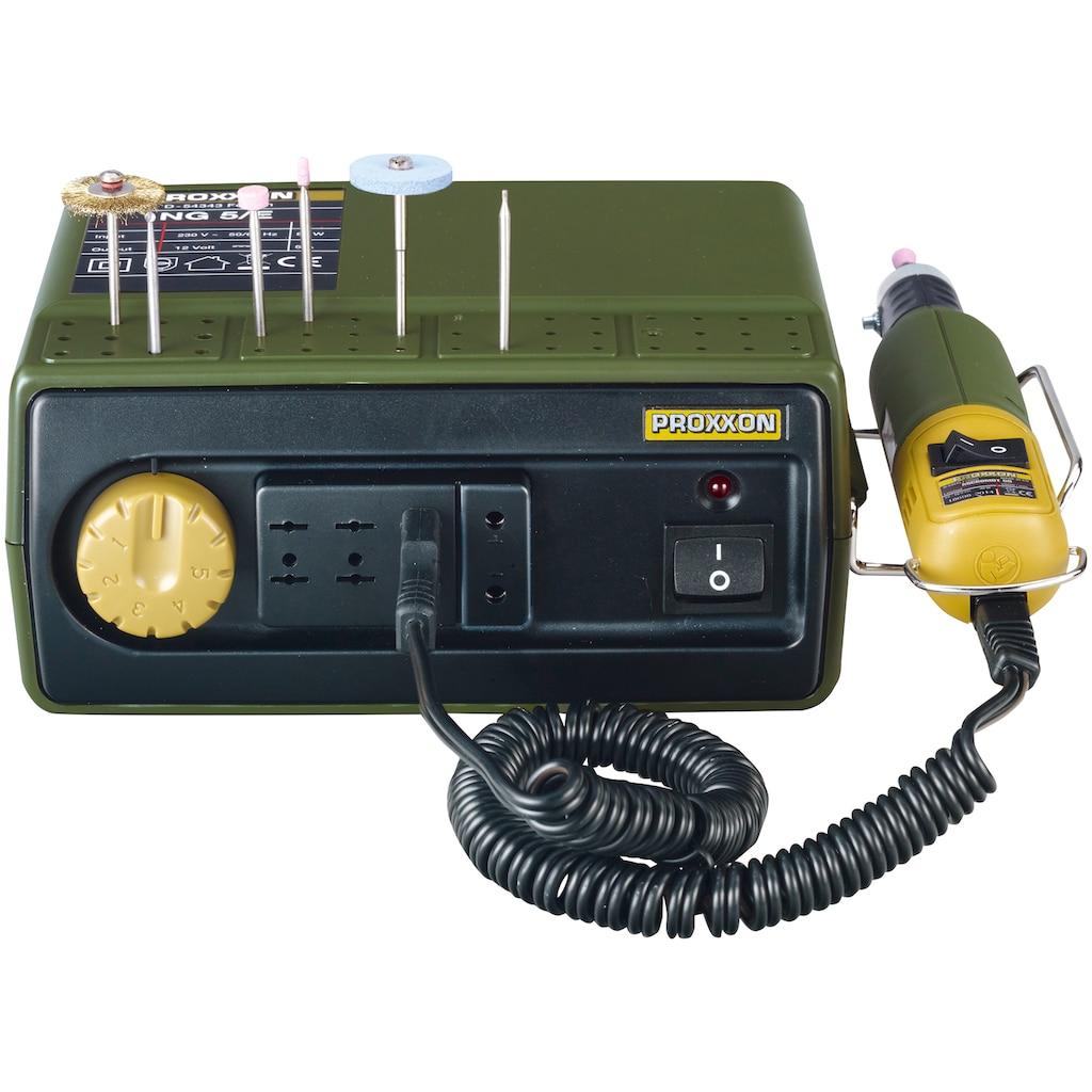 PROXXON Netzteil »NG 5/E«, 220-240 V, Lieferung ohne Handgrät und Werkzeuge