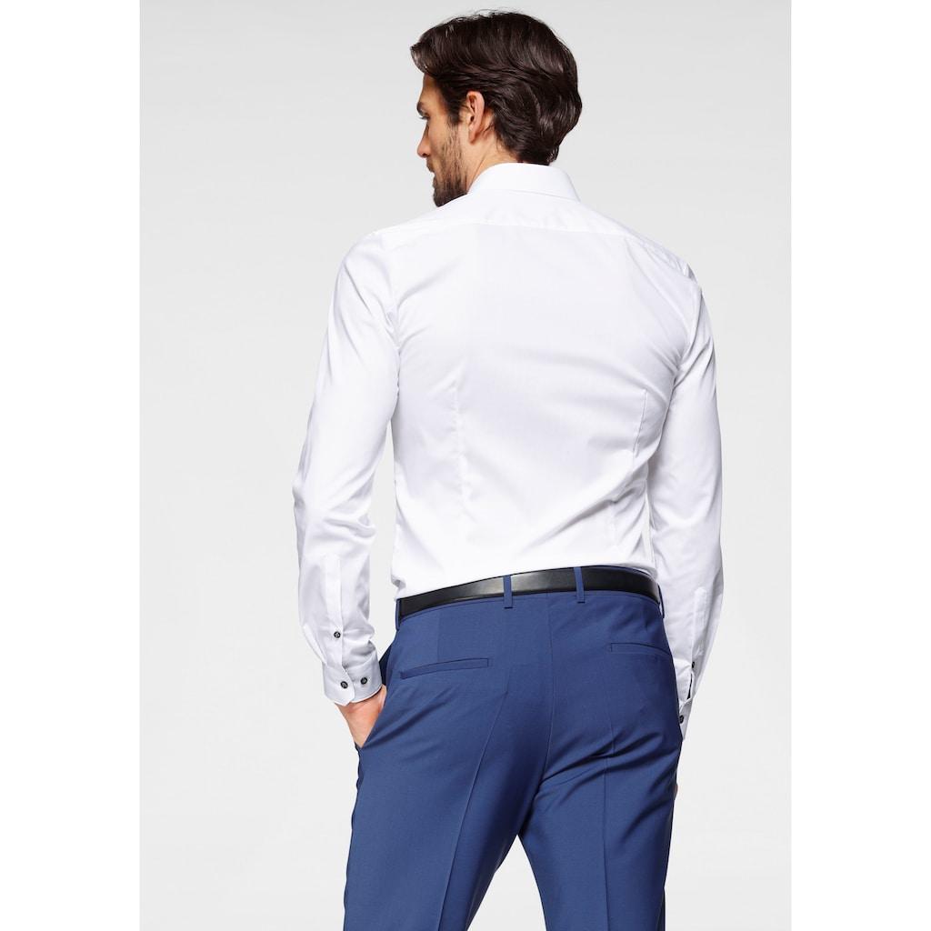 OLYMP Businesshemd »No. Six super slim«, super slim, Comfort Stretch, bügelleicht