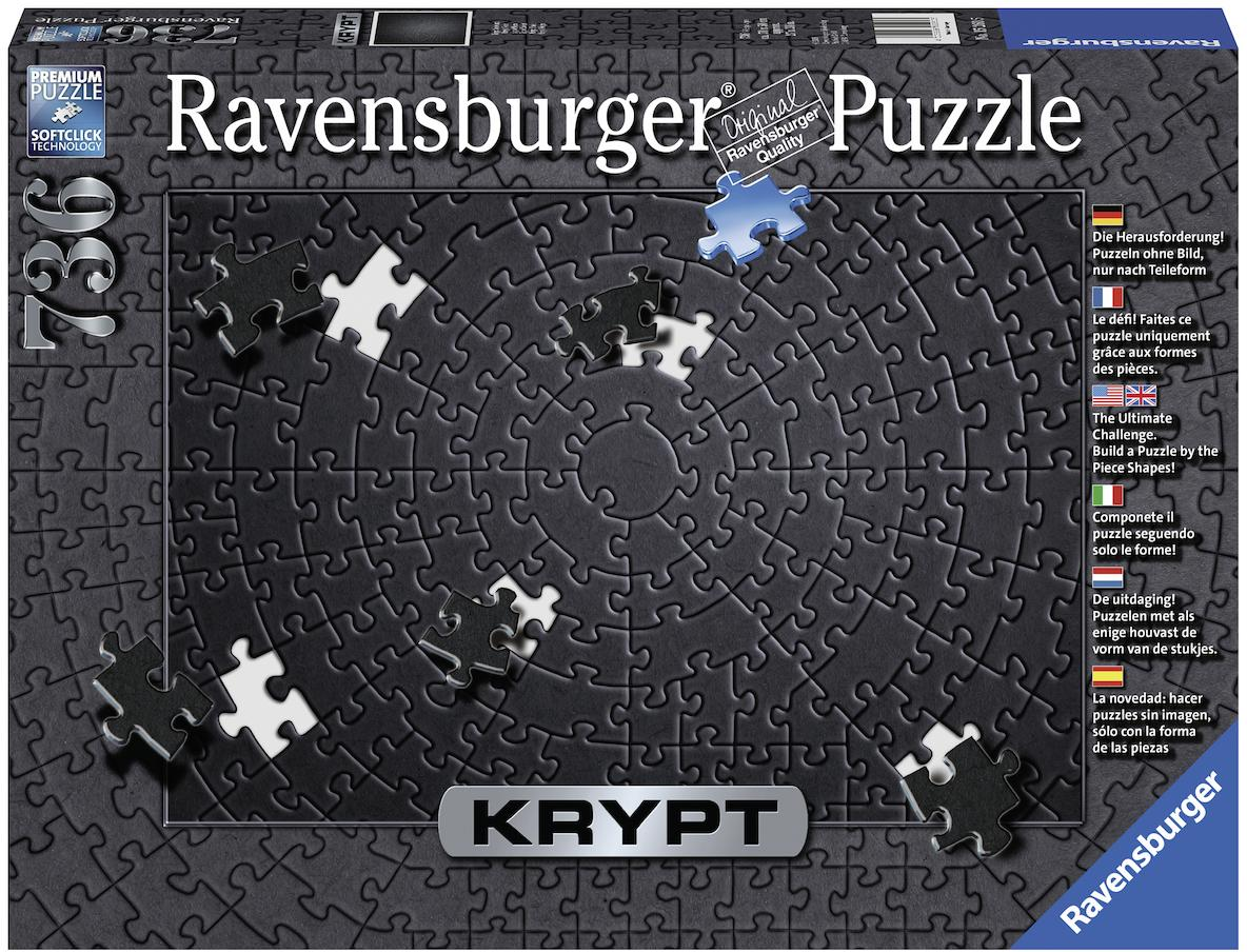 "Ravensburger Puzzle ""Krypt Black"" 736 Teile Kindermode/Spielzeug/Gesellschaftsspiele/Puzzle/Puzzle"