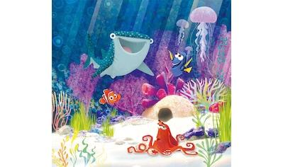 Komar Fototapete »Dory Aqua Party«, bedruckt-Comic-Retro-mehrfarbig, BxH: 300x280 cm kaufen