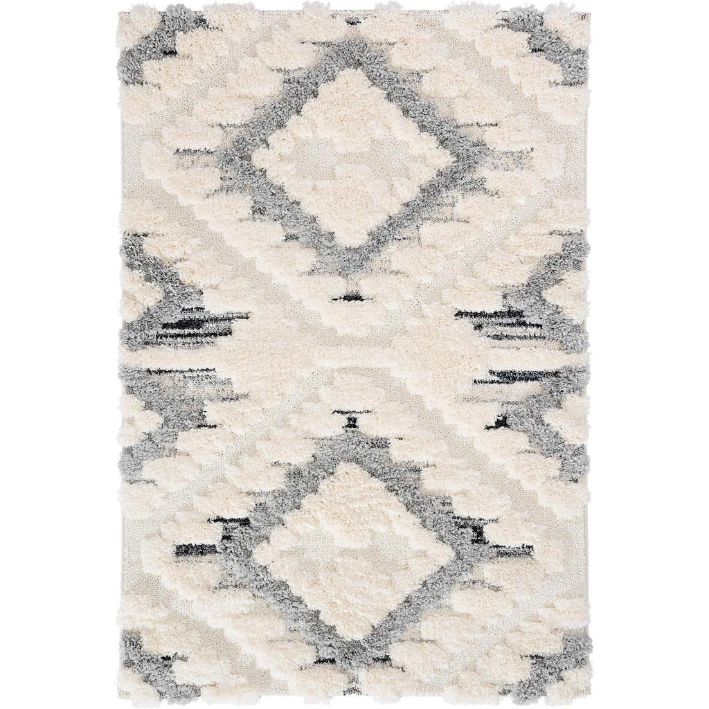 Sehrazat Teppich »Bahama 8831«, rechteckig, 30 mm Höhe, Wohnzimmer