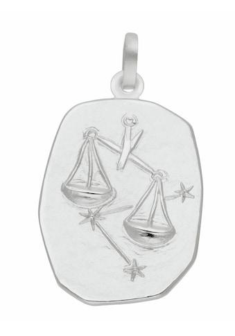 Adelia´s Kettenanhänger »925 Silber Sternzeichen Anhänger Waage«, Silberschmuck für... kaufen