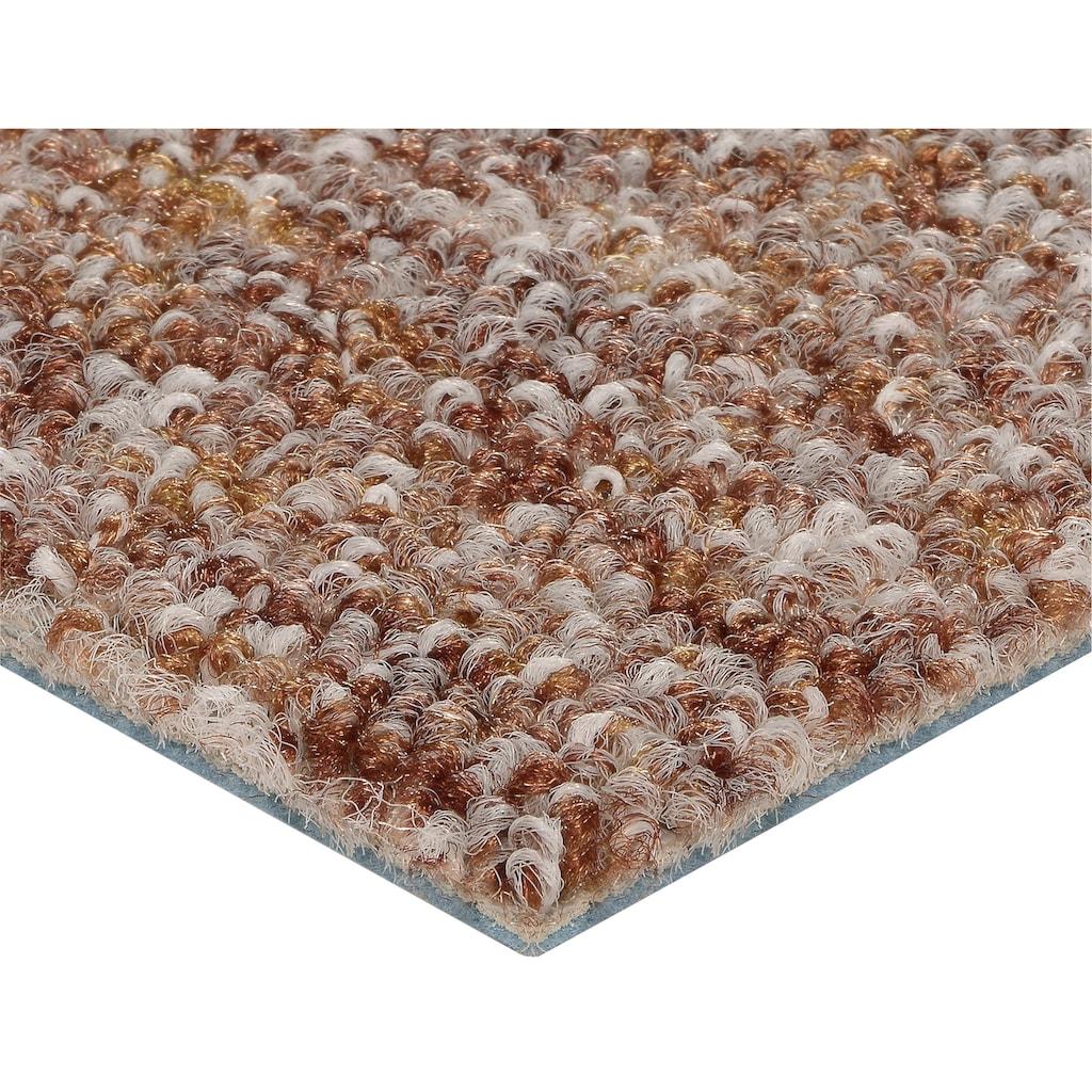 Bodenmeister Teppichboden »Schlinge gemustert«, rechteckig, 7 mm Höhe, Meterware, Breite 200/300/400/500 cm, Wunschmaßlänge
