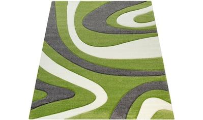 Teppich, »Inferno 241«, Paco Home, rechteckig, Höhe 17 mm, maschinell gewebt kaufen