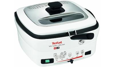 Tefal Fritteuse »deLuxe FR4950«, mit Pfannenwender, Fassungsvermögen 1,3 kg, Innenbehälter herausnehmbar und antihaftbeschichtet kaufen