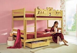 etagenbett silenta made in germany auf rechnung kaufen. Black Bedroom Furniture Sets. Home Design Ideas