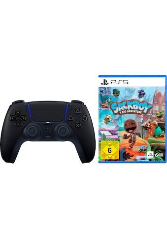 PlayStation 5 Wireless-Controller »DualSense Midnight Black«, inkl. Sackboy: A Big... kaufen