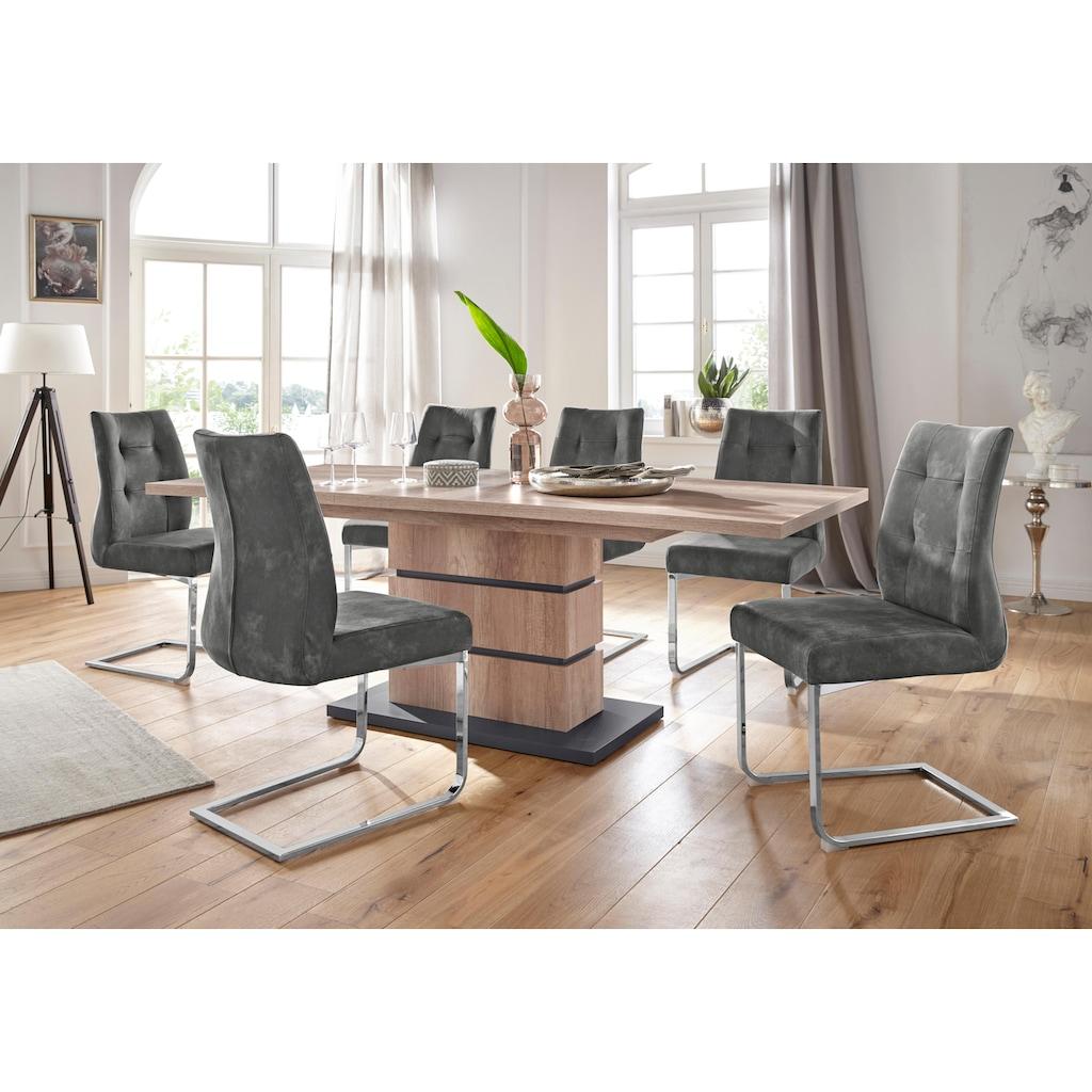 Homexperts Essgruppe »Bonnie«, Breite 140 cm mit 4 Stühlen