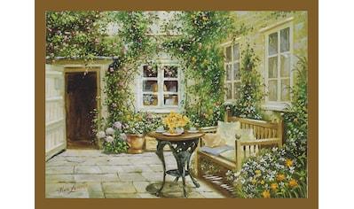 Home affaire Wandbild »Courtyard tranquility« kaufen