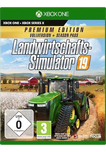 Landwirtschafts - Simulator 19: Premium Edition Xbox One kaufen