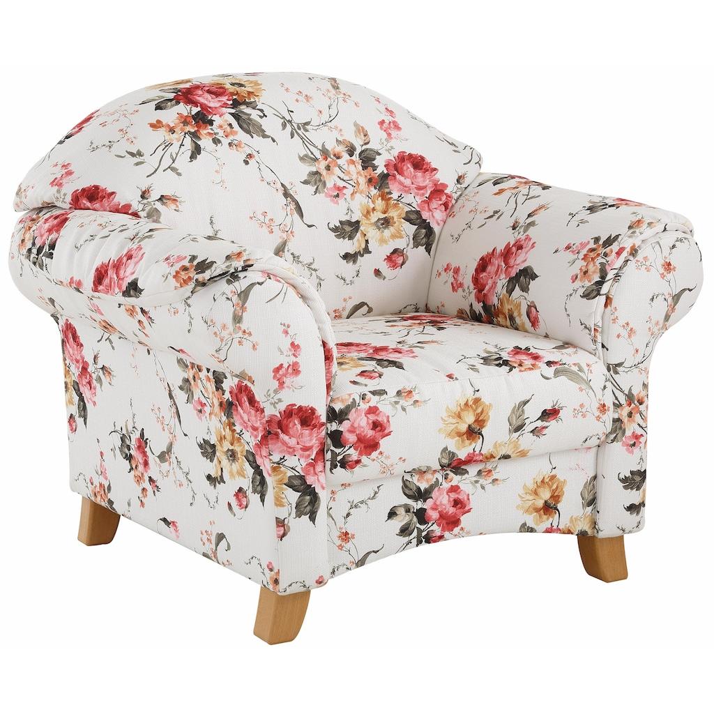Home affaire Sessel »Mayfair«, mit Blumenmuster