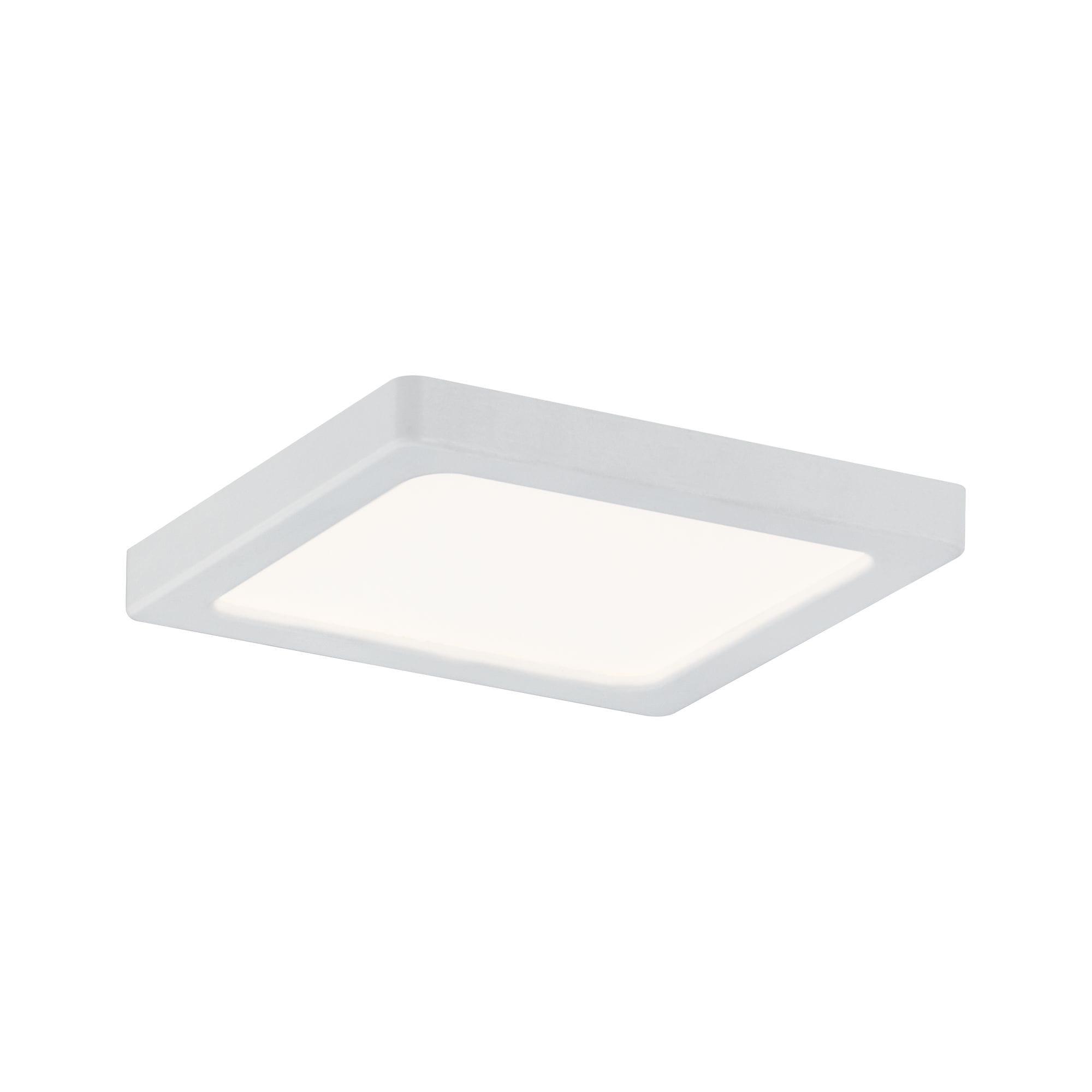 Paulmann LED Einbaustrahler Panel Areo IP23 eckig 80x80mm 5W 3.000K Weiß ma günstig online kaufen