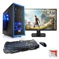 "CSL Multimedia PC | AMD A10-9700 | Radeon R7 | 16 GB DDR4 | 27"" TFT »Sprint T4763 Windows 10 Home«"