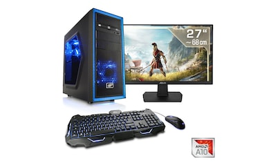 "CSL Multimedia PC | AMD A10 - 9700 | Radeon R7 | 16 GB DDR4 | 27"" TFT »Sprint T4763 Windows 10 Home« kaufen"