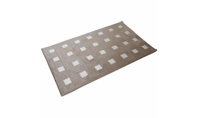 Dyckhoff Badematte »Karo«, Höhe 13 mm, rutschhemmend beschichtet,... kaufen