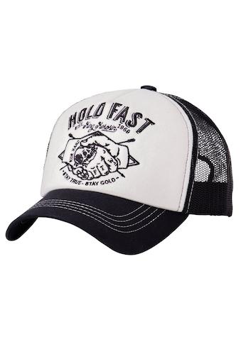 KingKerosin Trucker Cap »Hold Fast«, mit wattierter Front kaufen