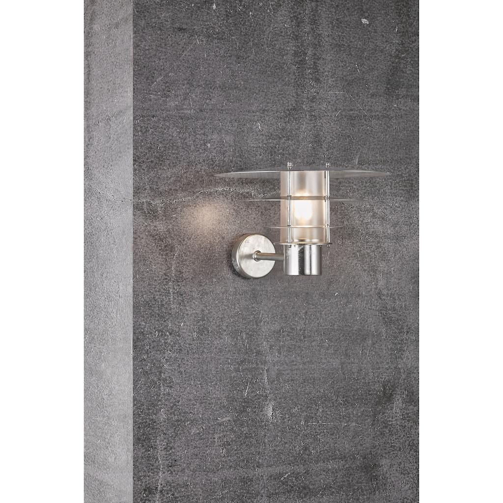 Nordlux Wandleuchte »BASTIA«, E27, 15 Jahre Garantie auf Korrosions, Seewasserfest, verzinkter Stahl