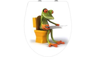 Wenko WC - Sitz »Frog News«, Mit Absenkautomatik kaufen