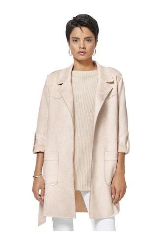 Creation L Velours - Jacke mit hohem Stretch - Anteil kaufen