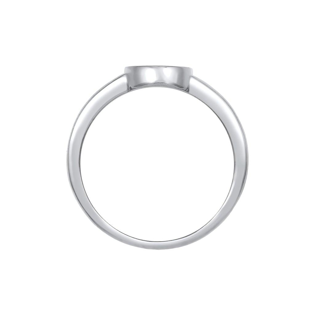 Elli Siegelring »Siegelring Basic Blogger Geo 925 Sterling Silber«
