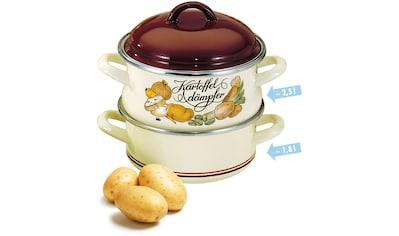 Elo - Meine Küche Dampfgartopf, Emaille, (1 tlg.) kaufen